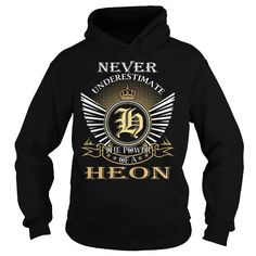 nice I love HEON T-shirts, It's an HEON thing, Name T-Shirts
