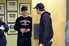 """Cleanout Day 2015: """"Best buds"""" http://penguins.nhl.com/club/news.htm?id=765274"""