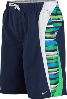 "44e012cb23 Vapor Glow Splice 9"" Volley Short NESS5343 Nike Swimwear, Presentation,  Glow, Sweatpants"