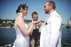 Seal your vows with a pinky swear | Offbeat Bride    WE NEED TO DO THIS AAAHHHHH.