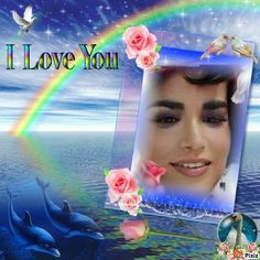 Cadre i love you I Love You, Frame, Woman Face, Photomontage, Picture Frame, Te Amo, Je T'aime, Frames, Love You
