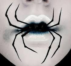 Image result for spider lips make up