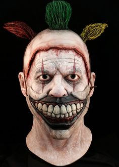 American Horror Story Twisty the Clown Deluxe Halloween Mask   TRICK or TREAT STUDIOS - Masks to Die For!