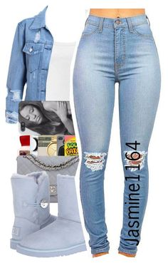 """Elijah Blake~I Just Wanna"" by jasmine1164 ❤ liked on Polyvore featuring Intimissimi and UGG Australia"