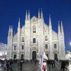 My country has such beautiful churches #Duomo #Milan #Italy #Church #SoWantToClimbThat