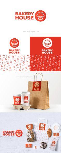 Bakery House -Branding for sale! http://www.one-giraphe.com/prev.php?c=195 #logo…