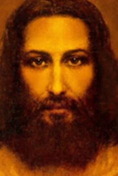 Jesus Face Image According to Shroud of Turin King Jesus, God Jesus, Real Image Of Jesus, Jesus Reyes, Jesus E Maria, Pictures Of Jesus Christ, Jesus Painting, Our Father In Heaven, Christ Is Risen