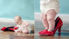6 month old baby girl  Six Months of Happy {Richmond Baby Photographer, Midlothian Child Photographer}