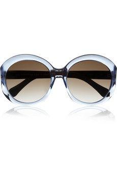 232580748d Balenciaga Round-frame acetate sunglasses