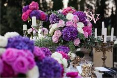 Massive compositions for a Baroque inspired wedding in Tuscany. Planning by SposiamoVi.it - Tuscany