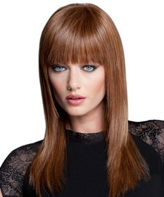 Lux Sleek & Straight by Luxhair - this heat friendly wig comes in array of colors.  Add some waves and go blond for a style similar to Emma Stone