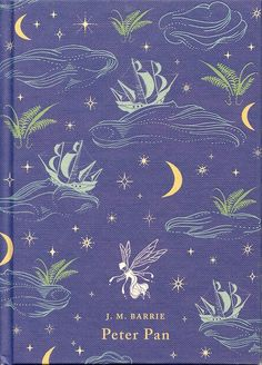 """...and the moment you doubt whether you can fly, you cease forever to be able to do it""- J.M Barrie - Beautiful cover."