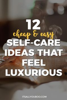 12 Cheap and Easy Self Care Ideas That Feel Luxurious Looking for affordable self-care ideas to improve your mental health? Love yourself with these DIY self-care activities for women and for moms, including tips for at home beauty and relaxation. Coaching, Self Care Activities, Relaxation Activities, Care Quotes, Growth Quotes, Self Care Routine, Self Development, Personal Development, Wellness Tips