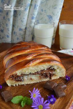 Barbi konyhája: Bounty kalács Sweet Recipes, Healthy Recipes, Ring Cake, Hungarian Recipes, Hungarian Food, Scones, Sandwiches, Ale, Bakery