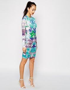 Enlarge Girls On Film Digital Print Dress