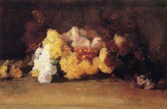The Athenaeum - Chrysanthemums (Guy Orlando Rose - )