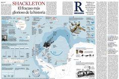 Fin de semana muy infográfico en La Vanguardia (cuál no lo es) con dos trabajos a doble página impresionantes. Arriba, sobre la cápsula Orión, la primera misión de la nave de la NASA con la que...