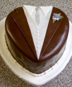Tuxedo Groom's Cake By TheCakeWizard on CakeCentral.com