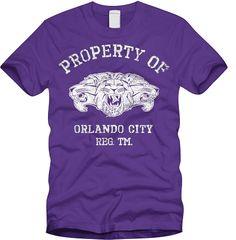 Orlando City T-shirt.