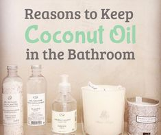 Why Every Home Should Have Coconut Oil in the Bathroom. Uses for coconut oil. Soft hair, skin and so much more! Coconut Oil Beauty, Coconut Oil Hair Mask, Coconut Oil For Acne, Cooking With Coconut Oil, Coconut Oil Uses, Benefits Of Coconut Oil, Organic Coconut Oil, Beauty Hacks Nails, Beauty Tricks