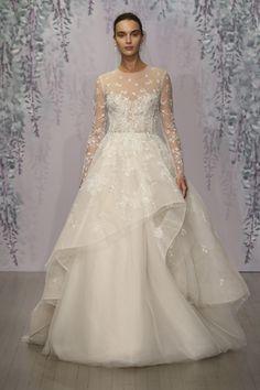 Monique Lhuillier Fall 2016 Bridal Collection - Delaney Gown