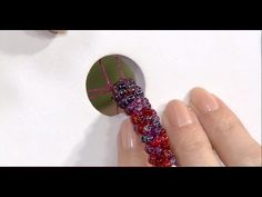 How to Add Seed Beads to a Kumihimo Braid - Braided Jewelry with Beads T...