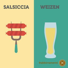 Abbinamento salsiccia e birra weizen