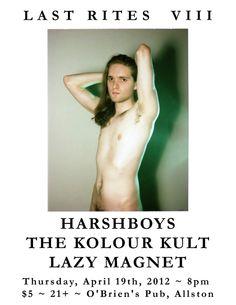 Harshboys, The Kolour Kult, Lazy Magnet at O'Brien's 4/19