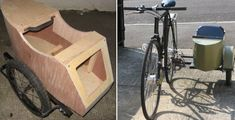 Build a sidecar to give your bike more transport space!