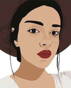 happy birthday wishes for him boyfriends Digital Drawing, Digital Art Anime, Digital Art Fantasy, Digital Art Girl, Portrait Cartoon, Vector Portrait, Digital Portrait, Pop Art Portraits, Portrait Art
