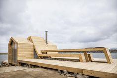 Sauna-Projekt in Norwegen / Kunst statt Kabeljau - Architektur und Architekten - News / Meldungen / Nachrichten - BauNetz.de