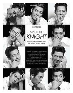 Kim Woo Bin fancies himself a stylish chess player and gymnastfor SIEG Fahrenheit'sS/S 2016 ad campaign. Check it!    Sources | SIEG FAHRENHEIT FB | SIEG FAHRENHEIT &n…