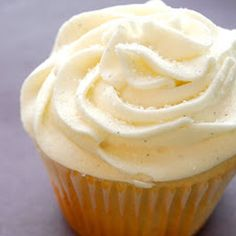 Starbucks Copycat Vanilla Bean Cupcakes - unsalted butter - sugar - 3 large eggs - pure vanilla extract - flour - milk - vanilla bean - powdered sugar