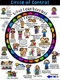 Early Elementary Counseling: What Are Things I Can Control & I Can't Control Early Elementary Counseling: What Are Things I Can Control & I Can't Control,Psychologie Related posts:Social Emotional Learning Activities - Class Challenge. Elementary Counseling, Counseling Activities, School Counselor, Therapy Activities, Elementary Schools, Anger Management Activities For Kids, Group Counseling, Mindful Activities For Kids, Coping Skills