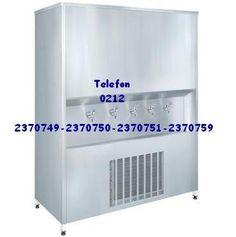 Tekstil atölyeleri büyük işletmeler için çok musluklu soğuk su soğutucusu cihazlar 0212 2370749