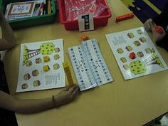Tons of kindergarten math station ideas!
