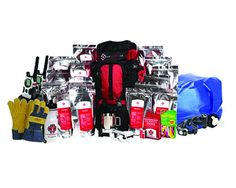 Disaster Preparedness Kit from DailyBread.com.  Comes with a 2-week food suppy, heat fuel pellets, water filtration and more! #dailybread #emergency #preparedness