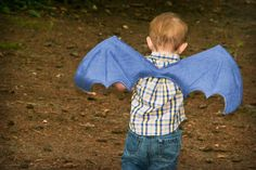 Dragon wings for little ones! This has gift-giving written all over it. I bet you could use an old fleece blanket or t-shirts to make these! #JCPAmbassador #BH #Ad