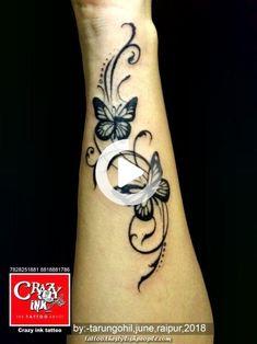 tattoo by Tarun Gohil for girls wrist tattoo. … Butterfly tattoo by Tarun Gohil for girls wrist tattoo.Butterfly tattoo by Tarun Gohil for girls wrist tattoo. Butterfly Wrist Tattoo, Butterfly Tattoos For Women, Flower Wrist Tattoos, Butterfly Tattoo Designs, Small Wrist Tattoos, Henna Tattoo Designs, Tattoo Designs For Women, Foot Tattoos, Sleeve Tattoos
