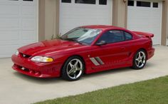 Rio Red 1995 Saleen S351 Mustang Coupe