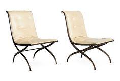 Kelly Wearstler Steel Side Chairs