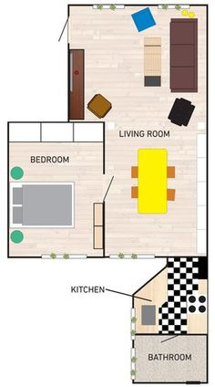 small space floor plan