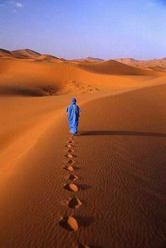 Imprint marche homme bleu