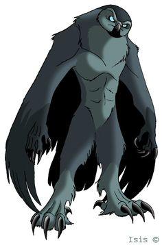 The Owlman by IsisMasshiro.deviantart.com on @DeviantArt