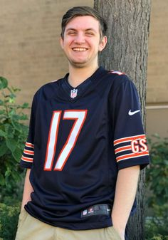 Alshon Jeffery Nike Chicago Bears Mens Blue Home Limited Football Jersey - 12554701 Chicago Bears T Shirts, Nfl Chicago Bears, Design Movements, Beckham Jr, Bear T Shirt, Football Jerseys, Athletic, Nike, Tv