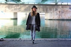Trilby on my blog !  http://www.marieandmood.com/2014/10/trilby.html Fashion - Outfit - Look - Lyon - Style