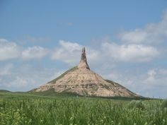 5. Nebraska's Chimney Rock was the landmark most often mentioned in journal entries by travelers on the Oregon Trail.