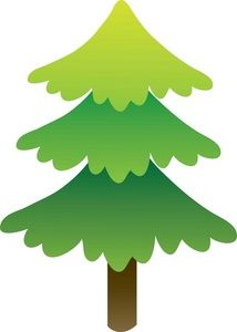 pine trees clip art - Google Search
