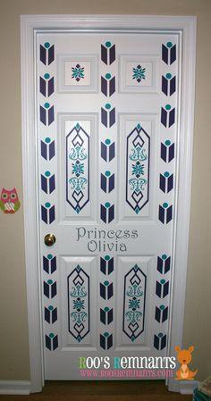 Frozen Inspired Elsa Bedroom Door Decor Kit - Perfect for your little princess!