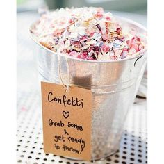 Plan the sweetest send-off. Six alternatives to throwing rice, via Loverly